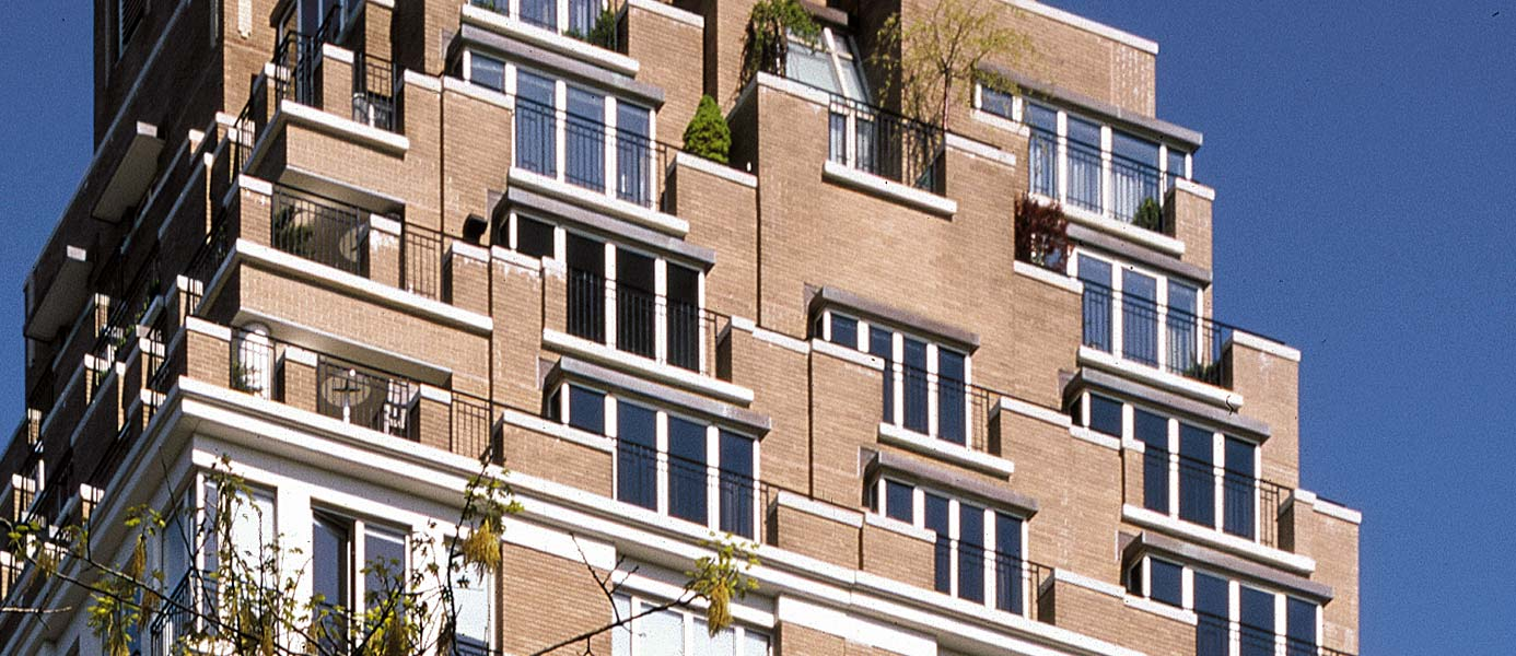 353 Central Park West Exterior Detail