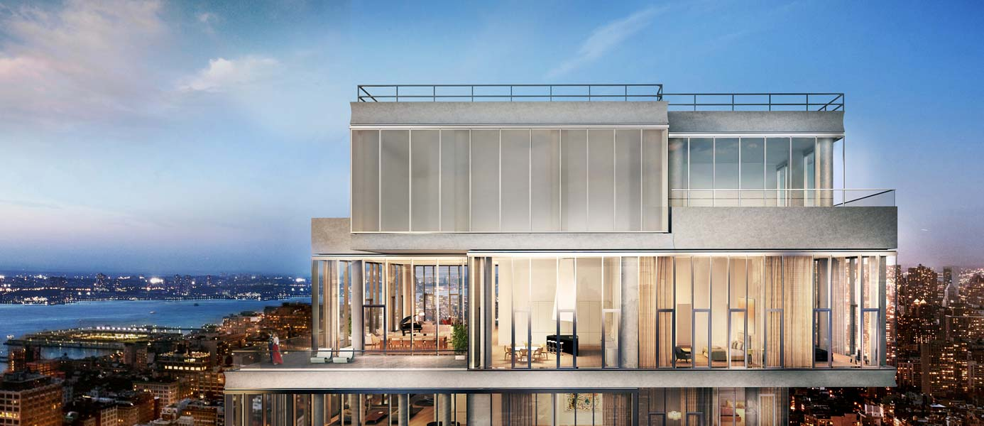 56 Leonard Penthouse Rendering