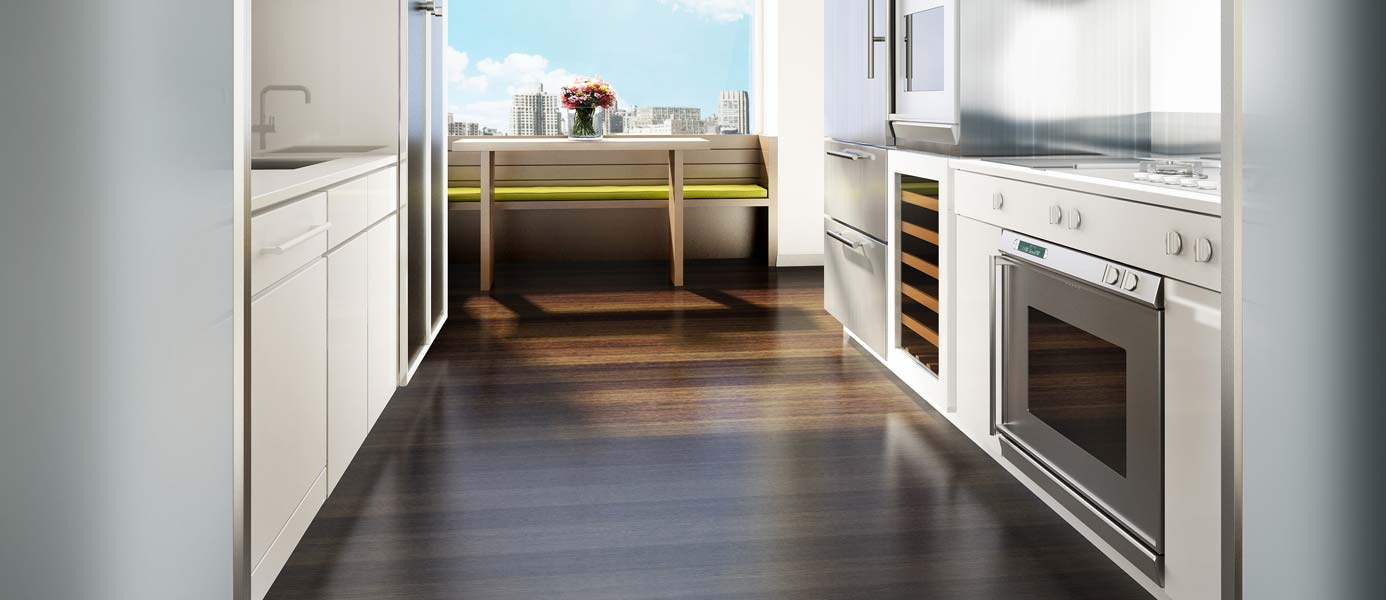The Laurel—Kitchen Interior Rendering