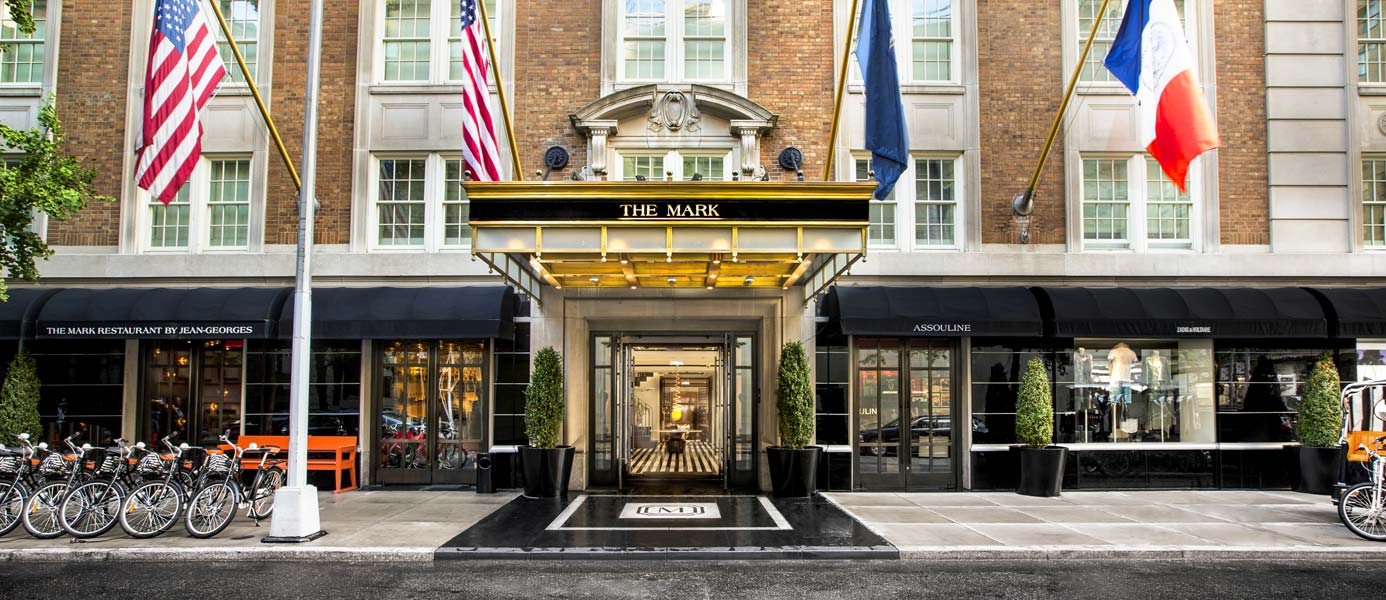 The Mark Hotel Entrance—Day